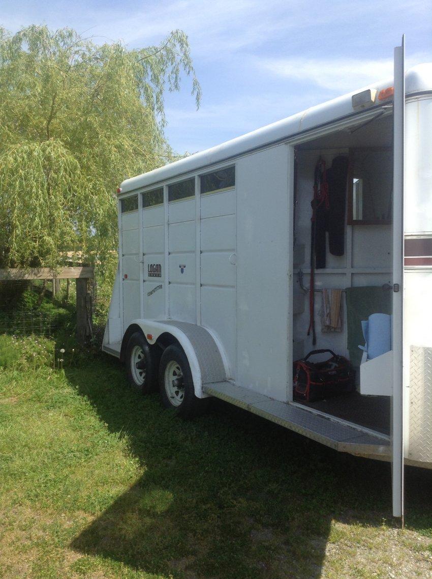 elkhart coach wiring diagram 3 horse trailer for sale - bumper pull #3